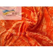 Tecido de lã/veludo diversos moda para têxteis-lar, 100% poliéster
