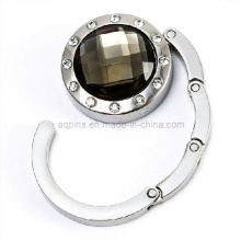 Fashion Crystal Handbag Hook with Diamond (bag hanger-03)