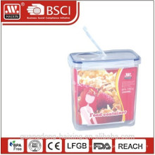 3.5L plastic storage container with seal ring