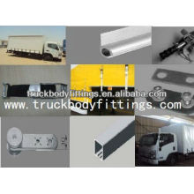 Tautliner Truck und Trailer Vorhänge