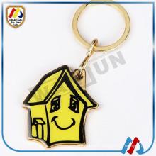 Porte-clés en forme de maison personnalisée à la maison