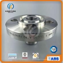 Bride forgée de soudure de cou de soudure de bâti d'acier inoxydable d'ANSI DIN (KT0343)
