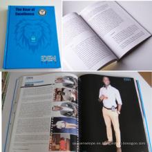 Impresión de libros, impresión de catálogos, impresión de revistas