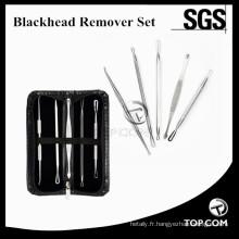 Blackhead Remover Pimple Acne Extractor Tool Meilleur Kit De Suppression De Comédons