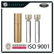 LUNA CNC aleación de aluminio de 20ml Twist hasta embalaje de perfume recargable