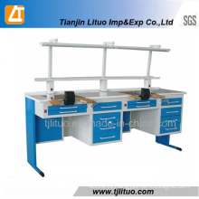 Two Persons Dental Lab Work Table