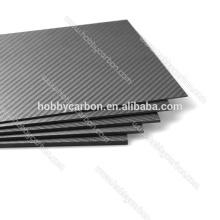 FPV Drone HCG009 Haute Qualité 4.5x400x500mm Carbone Plaque Mat Sergé Plaque / Feuille Prix Fabricant pour Machine de Découpage