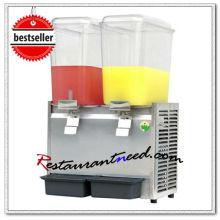 K684 Dispensador de bebidas frio e quente de cabos duplos comerciais de 36L
