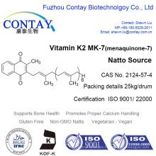 Contiene vitamina K2 MK-7 Menaquinona 7 en polvo