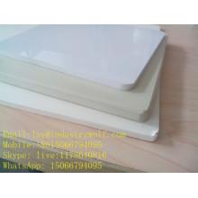 Tablero de la muestra del PVC, tablero que hace espuma del pvc del color azul de 3m m, 5m m