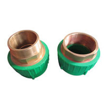 PPR Fitting Mould-Male Socket with Brass Insert