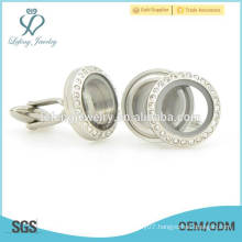 High quality 316l stainless steel cufflink findings, cufflinks for men