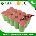 ni-mh 18V 3000mAh D rechargeable battery pack