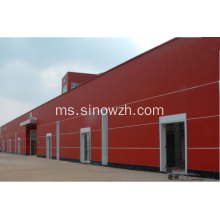 Gerbang Steel Campuran Prefabricated