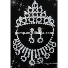 Самый последний bridal комплект ювелирных изделий венчания (GWJ12-531A)