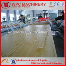 Ligne de production de panneau de panneau de PVC WPC