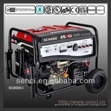 8000 watts SC9000-I 50Hz gerador portátil de gasolina de fase única