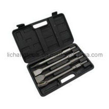 4PCS Chisels Set with Plastic Box