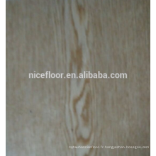 Revêtement de sol en bois multicouches en bois massif à trois couches en chêne