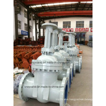 Cast Steel Rising Stem Gate Valve 6.4MPa