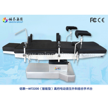Hospital electro surgery bed