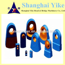 Marteau de haute qualité, épingles à marteaux, grilles de marteaux. Plaque d'usure, plaque de garniture, boulons