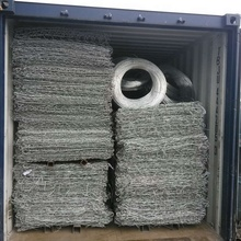 Galvaniserad dubbel twist hexagonal form Gabion Box