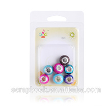 2015 Top custom made plastic beads for scrapbooking