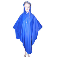 Ladies Blue PVC Poncho