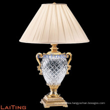 Cheap china supplier crystal lamp table glass table lamp for hotel 2270