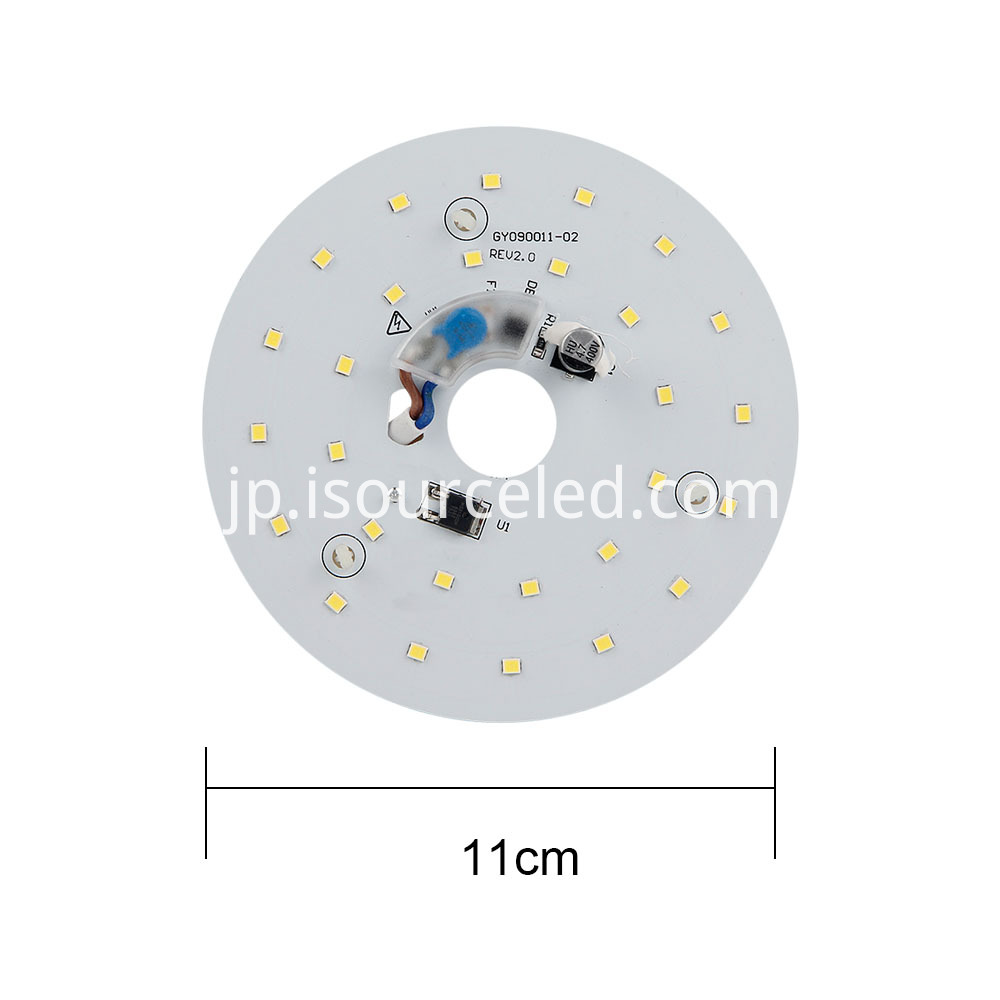 9W LED ceiling light module