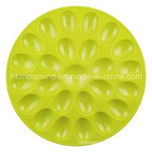 Round Melamine Egg Tray (TR6687)