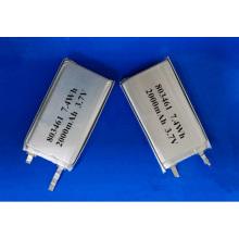 2000mAh 803461 Batería de litio-polímero Batería de litio-polímero de 3.7V