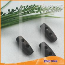Mode Natürliche Holz Horn Toggle Button für Kleider BN8104