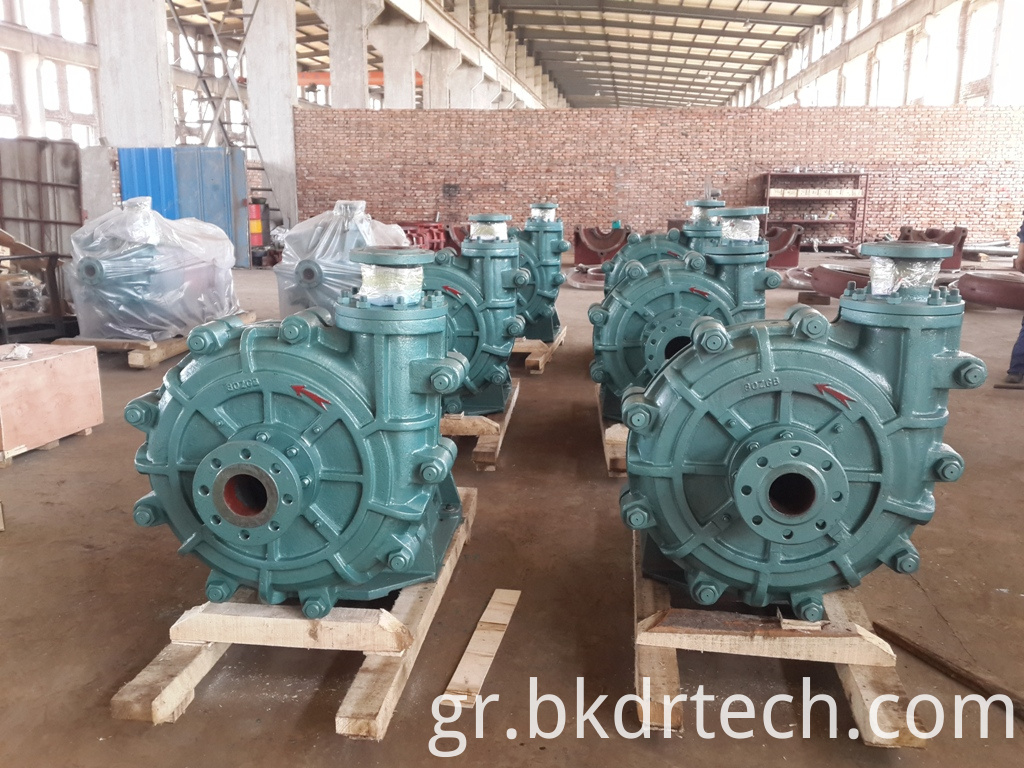 Zgb High Head Slurry Vacuum Pump
