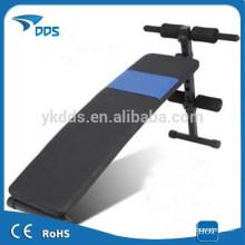 Banc de travail incliné réglable gym équipement