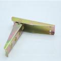 Steel and yellolw zinc folding van truck step ladder-115006