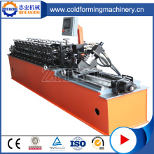 Easy Operation Metal Omega Profile Roll Forming Machine