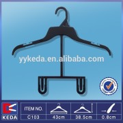 pp recycled plastic size tag hanger for top and bottom