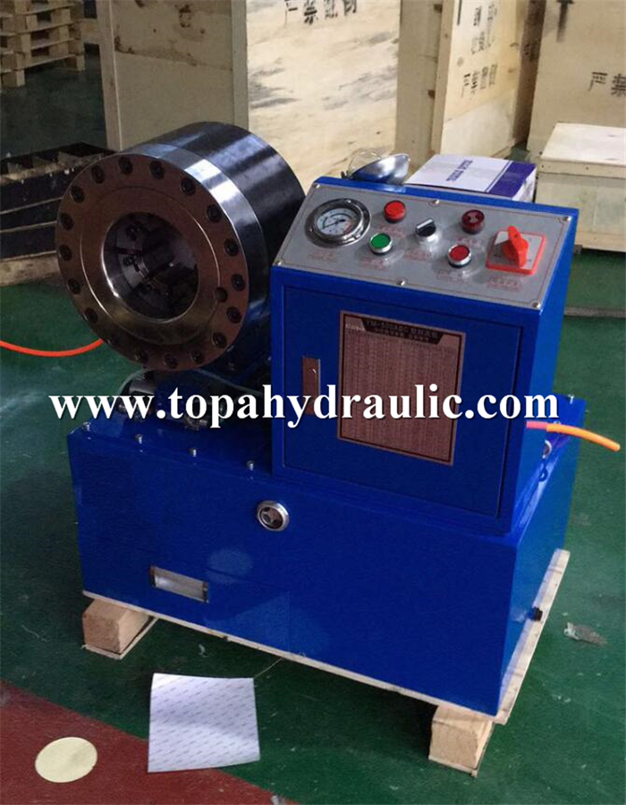gates hydraulic hose crimping machine