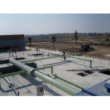 Wasserversorgung oder Entwässerung Fiberglas oder GFK-Rohr