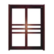 Puerta interior de madera (HDD-005)