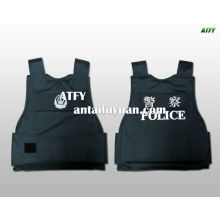 Gilet pare-balles de la police / armure de corps en Kevlar NIJ IIIA