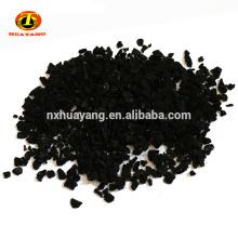 8 * 30 malla de coco granulado de cáscara de carbón activado