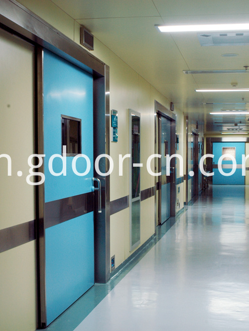 Ningbo GDoor Dustproof Hermetic Doors for Hospital