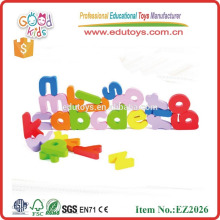 Funny letters alphabet box wooden educational toys kids wooden magnetic letter for child