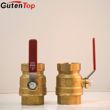 Gutentop Made In Italy Brand Brass Ball Valves With Italy Logo