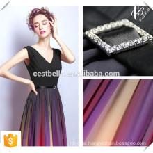 2016 Chic Elegant Chiffon Deep V Luxus Frauen Kleid bodenlangen Regenbogen Farbe Abendkleider für Großhandel