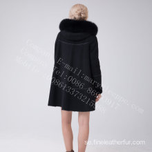 Australien Lady Merino Shearling Hooded Jcket