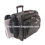 Fashion Canvas Laptop Bags, Travel Case, Trolley Case, Black Computer Bags (A3060)